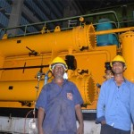 Indian experts at the new Labasa co-gen plant